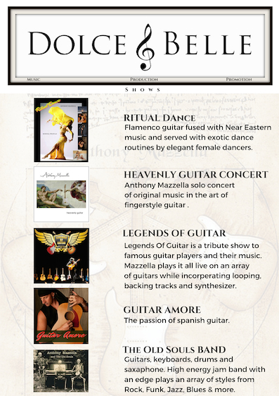 ANTHONY MAZZELLA: Sedona Musician, Concert Guitarist